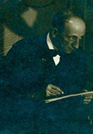 Kóber Leó 1919-ben, forrás: Országos Széchényi Könyvtár/ Kézirattár: Arcképgyűjtemény
