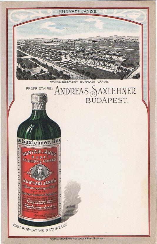 Saxlehner-reklám