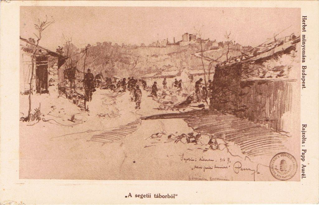Papp Aurél - A segetii táborból